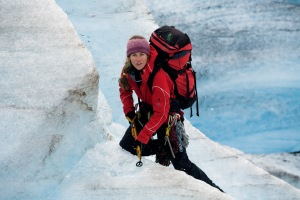 Norwegian adventurer and mountaineer Cecilie Skog headlined at the Banff Mountain Film and Book Festival on November 2, 2013.