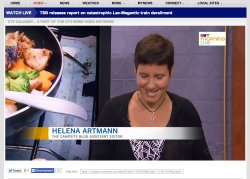 Helena Artmann on CTV.