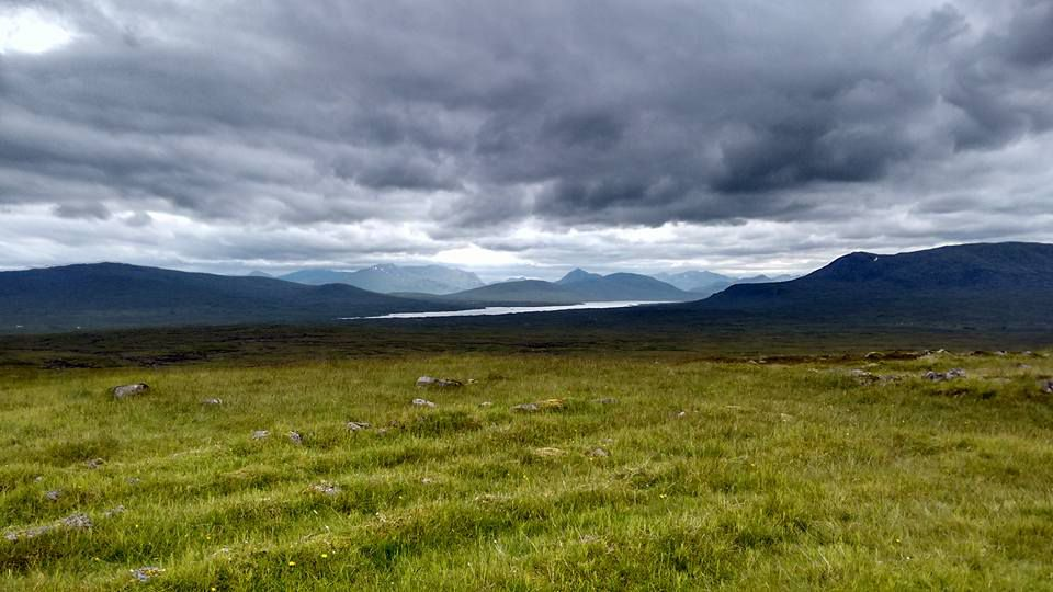 Munro bagging wild camping weekend - our view for the night